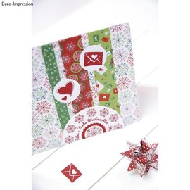 """Stempel / Stamp: Holz / Wood 20% RABAT! Mini træ stempel sæt """"Winter Wonderland"""""""