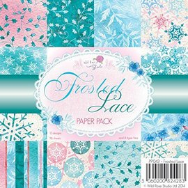 DESIGNER BLÖCKE / DESIGNER PAPER Designer paper, 15.5 x 15.5 cm, Frosted Lace - only 1 in stock!