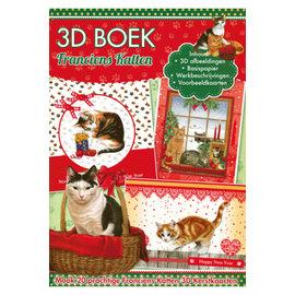 Bücher und CD / Magazines Bastelbuch voor het ontwerp van 20 Katten, 3D-kaarten