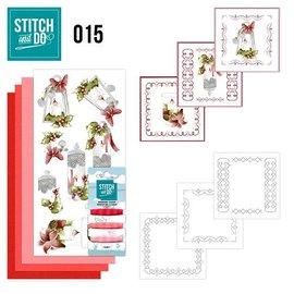 BASTELSETS / CRAFT KITS Kit de costura, Stitch and Do: velas
