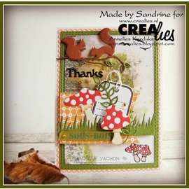 Crealies und CraftEmotions Cutting & Embossing dies, 12 rectangles with double embroidery lines, largest format: 12 x 16 cm