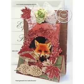 Joy!Crafts / Hobby Solutions Dies Skæring og prægning Skabelon: Ivy krans