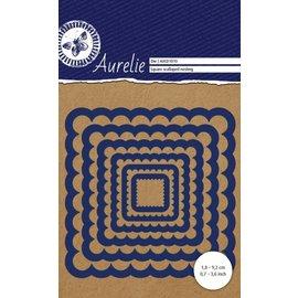 AURELIE AURELIE, Stanzschablonen: Rechteck gewellt