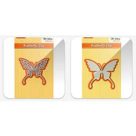 Nellie Snellen Cutting and embossing die: Butterfly
