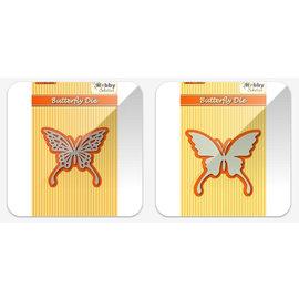 Nellie Snellen Skæring og prægning skabeloner: Butterfly