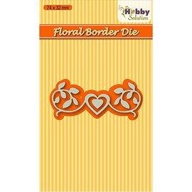 Nellie Snellen Corte e gravação em relevo modelos: Floral-2 fronteira