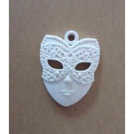 MIXED MEDIA NIEUW! Mixed Media motief met reliëfstructuur masker