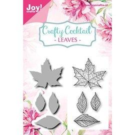 Joy!Crafts / Jeanine´s Art, Hobby Solutions Dies /  Matrices à découper + timbre assorti: Feuilles