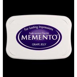 FARBE / STEMPELINK Memento grandi dimensioni: 96x67mm, Colore: Grape Jelly