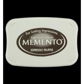 FARBE / STEMPELKISSEN Memento grande dimensão: 96x67mm, Cor: Espresso Truffle