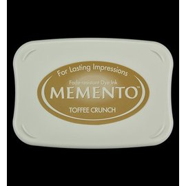 FARBE / STEMPELKISSEN Memento grande dimensão: 96x67mm, Cor: Toffee Crunch