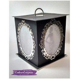 Die'sire die cutting embingeing: Venetian Mirror