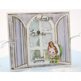 Dutch DooBaDoo Kunstschablone: Card Art Windows