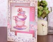 Wintergenuss Tee und Kaffee mit Kuchen