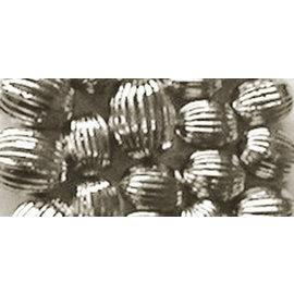Schmuck Gestalten / Jewellery art Sieraadkunst groeven parels, zilver, 8mm