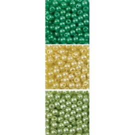 Schmuck Gestalten / Jewellery art contas de jóias de arte Trio acrílico, 3 milímetros