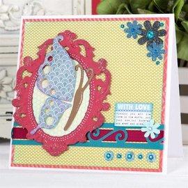 Docrafts / X-Cut stampi di taglio: Farfalla