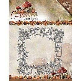 AMY DESIGN Gabarit de découpe et de gaufrage, cadre décoratif, taille: env. 13 x 13 cm