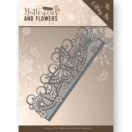JEANINES ART (NEU) Cutting and ambossing dies: Butterflies and Flowers Border
