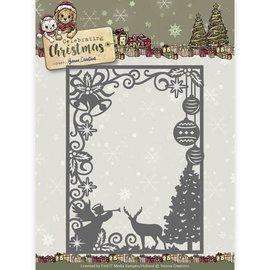 Yvonne Creations Decalques de corte e estampagem, Natal tradicional, quadro