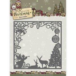 Yvonne Creations Stampi per taglio e goffratura, Natale tradizionale, cornice