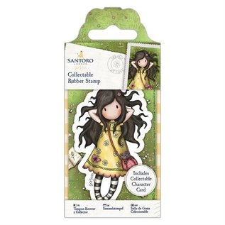 "Gorjuss / Santoro Mini Rubber Stempel, Santoro ""Gorjuss"" No. 43 Spring At Last"