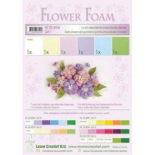 Leane Creatief - Lea'bilities Set 1 Pastel Colours; Foam Sheet Assortiment + Anleitung