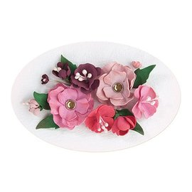 Leane Creatief - Lea'bilities und By Lene Ajuste 5, Red - rosa cor: espuma folha variedade + Guia