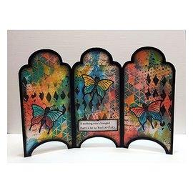 Dutch DooBaDoo Art template: Card Art Cabinet
