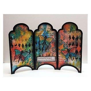 Dutch DooBaDoo Plantilla de arte: Tipo de tarjeta Gabinete