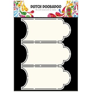 Dutch DooBaDoo Kunstschablone: Card Art Cabinet