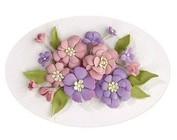 projeto da flor 3D criativo