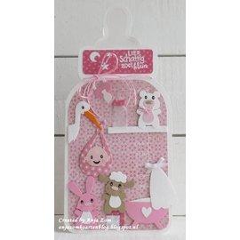 Marianne Design Couper et embosser des pochoirs, les bébés animaux d'Eline - seulement 1 en stock!