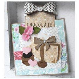 Marianne Design Stanz- und Prägeschablonen, Collectables - Box of Chocolates + stempelmotiv - nur noch 1 vorrätig!