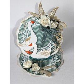 Joy!Crafts / Jeanine´s Art, Hobby Solutions Dies /  Stanzschablonen: Ente und Gans, 6002/0932