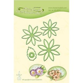 Leane Creatief - Lea'bilities cutting and embossing templates: Multi die flower