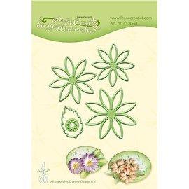 Leane Creatief - Lea'bilities Stanzschablonen: Multi Schablonen, Blume