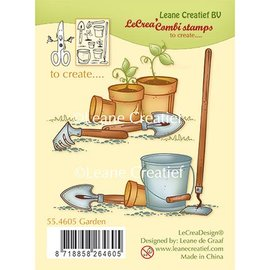 Leane Creatief - Lea'bilities Gennemsigtigt frimærke, have