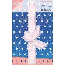 Joy!Crafts / Jeanine´s Art, Hobby Solutions Dies /  Skære- og prægemaler: Ribbons & Bows rand met strik