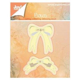 Joy!Crafts / Hobby Solutions Dies modelli di taglio e goffratura: 2 fiocchi