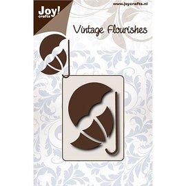 Joy!Crafts / Jeanine´s Art, Hobby Solutions Dies /  corte y estampado de plantillas: Vintage Umbrella
