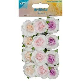 BLUMEN (MINI) UND ACCESOIRES 12 mini florzinhas, tamanho 25 mm