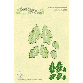 Leane Creatief - Lea'bilities und By Lene skære- og prægemaler: Twig & Leaves - Copy