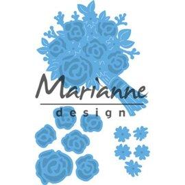 Marianne Design Skæring og prægning Stencils: Bouquet