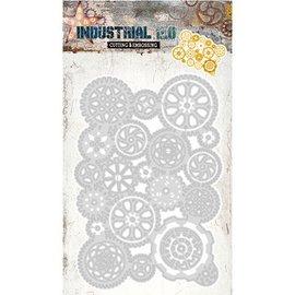 Studio Light Taglio e goffratura Stencil: industriale