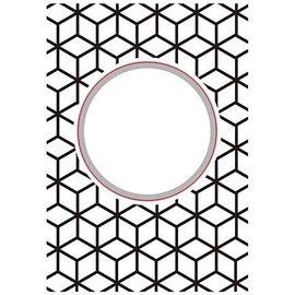 Nellie Snellen Corte e em relevo Stencils: Round-diamonds