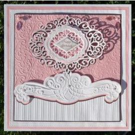 CREATIVE EXPRESSIONS und COUTURE CREATIONS cutting and embossing Stencils: Frame