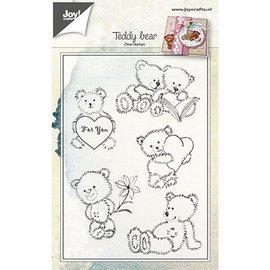Joy!Crafts / Jeanine´s Art, Hobby Solutions Dies /  Stamp transparente: ursos de pelúcia
