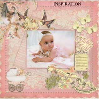 Kaisercraft und K&Company Spånplader motiver: Baby pige