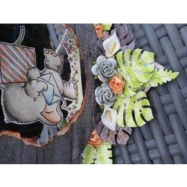 Joy!Crafts / Jeanine´s Art, Hobby Solutions Dies /  Perfuração e estampagem modelo Joy Artesanato, folhas